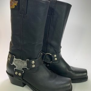 Women's Harley Davidson Engineer Motorcycle Boots